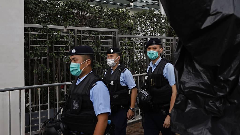 EU-Parlamentarier geisseln Chinas Pläne für Sicherheitsgesetz