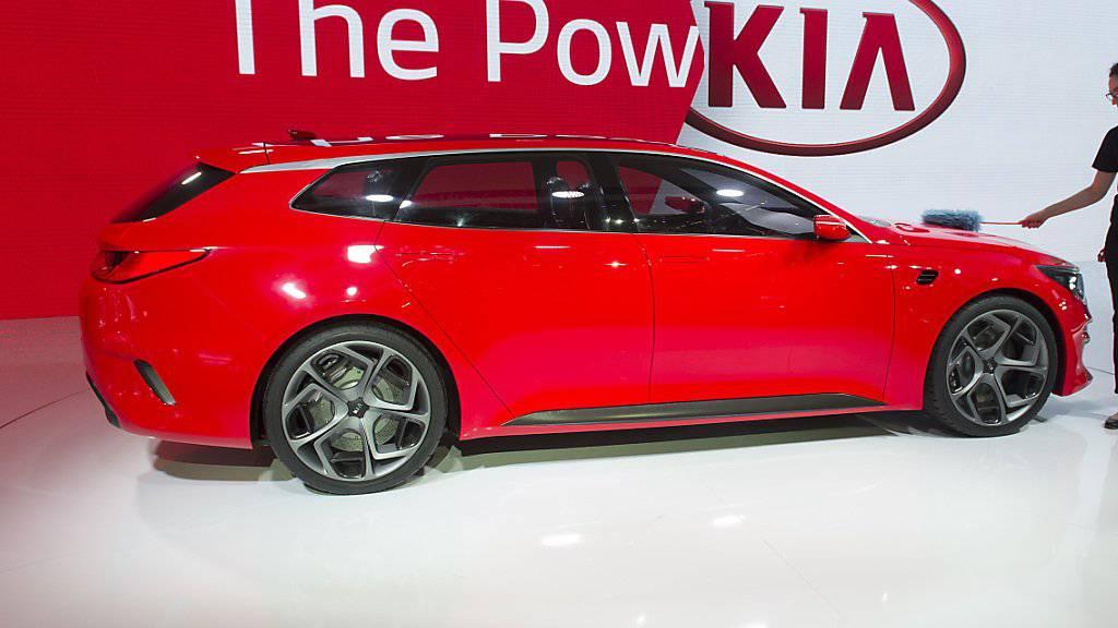 Die koreanischen Autohersteller wollen in diesem Jahr auf die Überholspur. (Archiv)