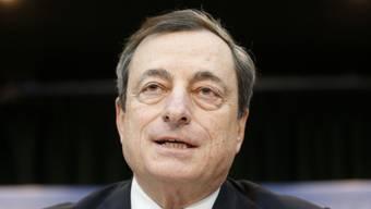 Draghi weist auf die Handlungsfägikeit der EZB hin