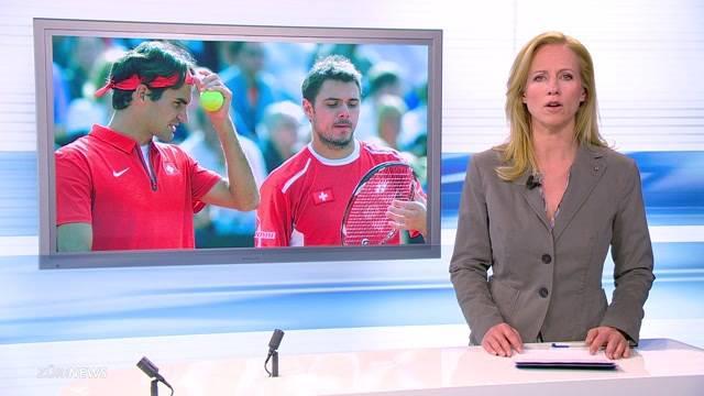 Schwarzer Tag für Stan Wawrinka und Roger Federer
