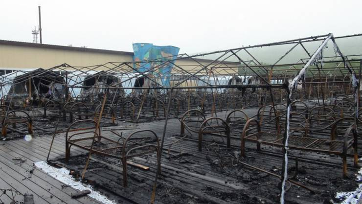 Bei einem Brand in einem Ferienlager in Russland sind mindestens vier Kinder ums Leben gekommen