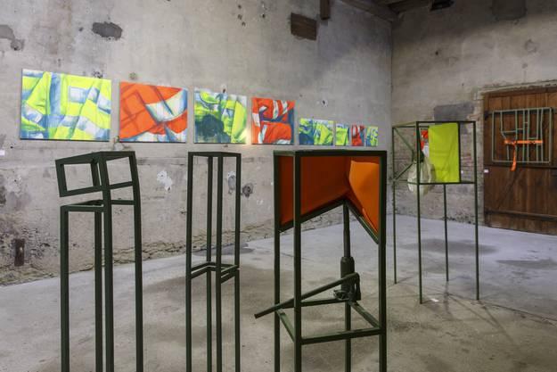 Ausstellung in der Alten Brennerei. primeart 2019: Pierre-Alain Münger