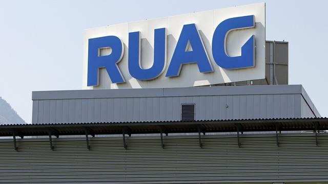 Das Logo des Technologiekonzerns RUAG (Archiv)