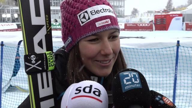 Schweizer Doppelsieg: So freuen sich Holdener und Gisin