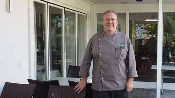 Lars Laier: «Sobald die Planung abgeschlossen ist, werde ich festlegen, wie lange der ‹Platanenhof› als Hotel-Restaurant in Betrieb bleibt – und dann informieren.» twe
