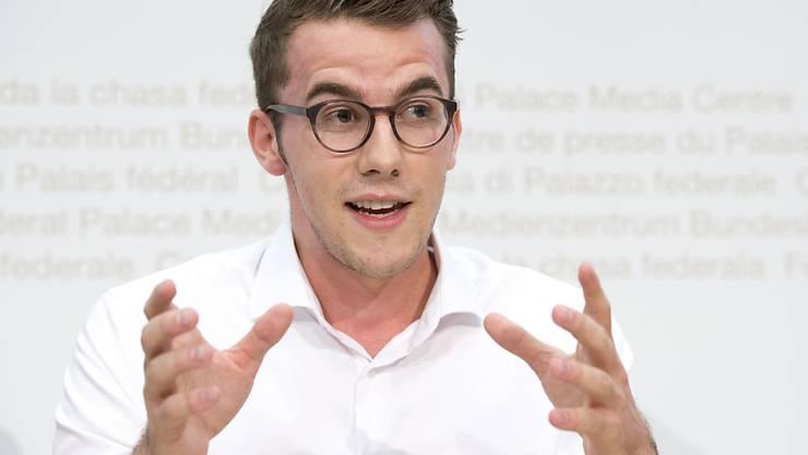 Ist neu der jüngste Nationalrat: der 25-jährige Zürcher FDP-Politiker Andri Silberschmidt. (Archivbild)