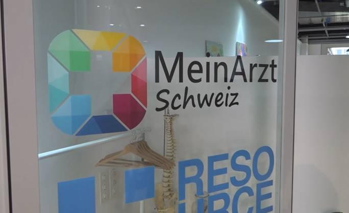 Der «MeinArzt Schweiz»-Eingang im Glattpark in Opfikon.