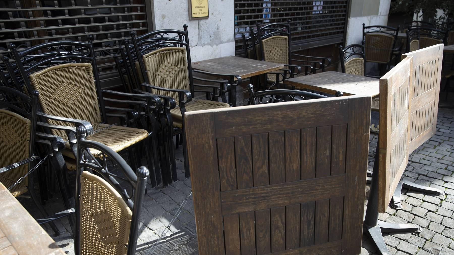 Dürfen Restaurants ihre Terrassen bald wieder öffnen?