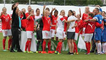 Die Schweizerinnen schicken Israel gleich mit 9:0 nach Hause