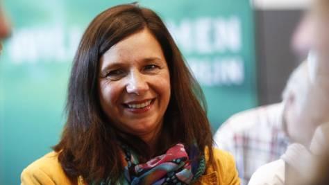Kathrin Göring-Eckardt, neue Fraktionschefin der deutschen Grünen