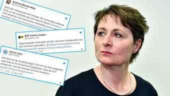 Der Tonus nach dem Parteiaustritt von Regierungsrätin Franziska Roth  Ruhe wird dadurch nicht einkehren.