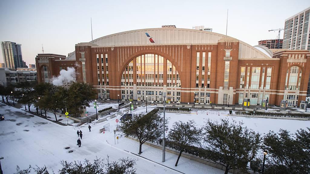 Nashville konnte wegen Wintersturm nicht spielen