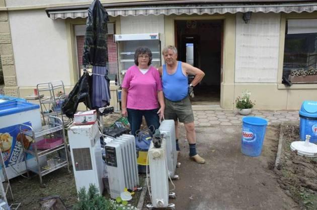 Der Lebensmittelladen von Elsbeth Byland wurde total überflutet. Sie musste fast alles entsorgen.
