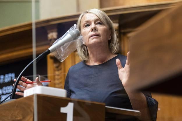«Das Vertrauen kann nur durch Transparenz wieder hergestellt werden»: CVP-Nationalrätin Elisabeth Schneider-Schneiter.