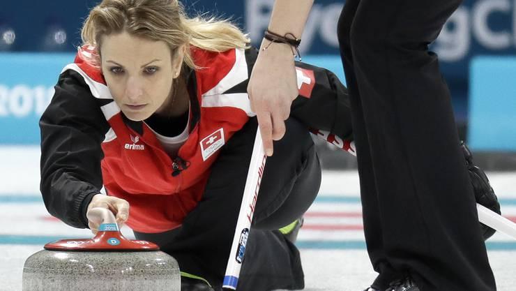 Silvana Tirinzoni vom CC Aarau gewann an der EM an einem international grossen Turnier eine Medaille.