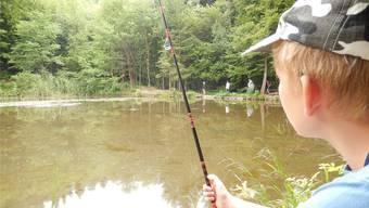 Ob die Kinder im Fricktal auch dieses Jahr mit dem Ferienspass fischen dürfen, ist noch offen. (Archiv)