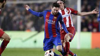 Lionel Messi und Barcelona straucheln, gehen gegen Atletico aber nicht zu Boden
