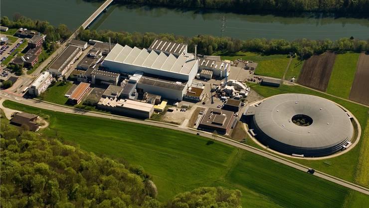 Für die High-Tech-Zone in Villigen beim PSI fehlt momentan Löschwasser. (Archiv)