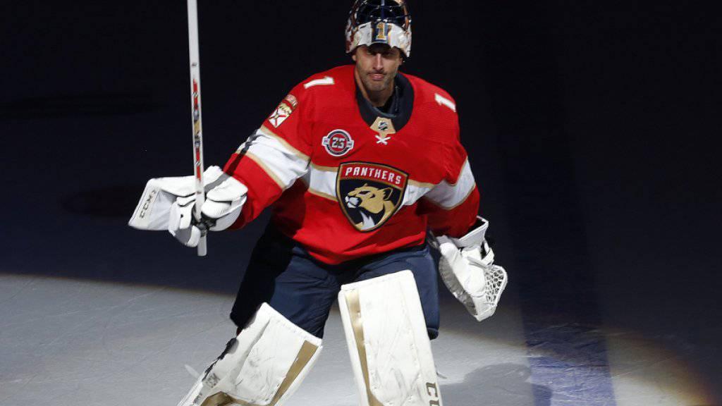 Nach 19 Saisons in der NHL ist Schluss: Roberto Luongo beendet seine erfolgreiche Goalie-Karriere. Der 40-jährige Kanadier wurde zweimal Weltmeister und gewann 2010 und 2014 Olympia-Gold
