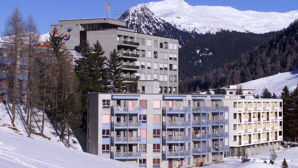 Das Spital in Davos. (Archiv)