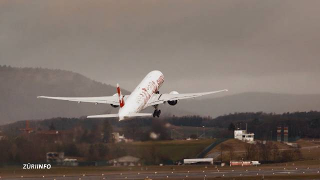 Swiss Boeing 777 – ready to take off