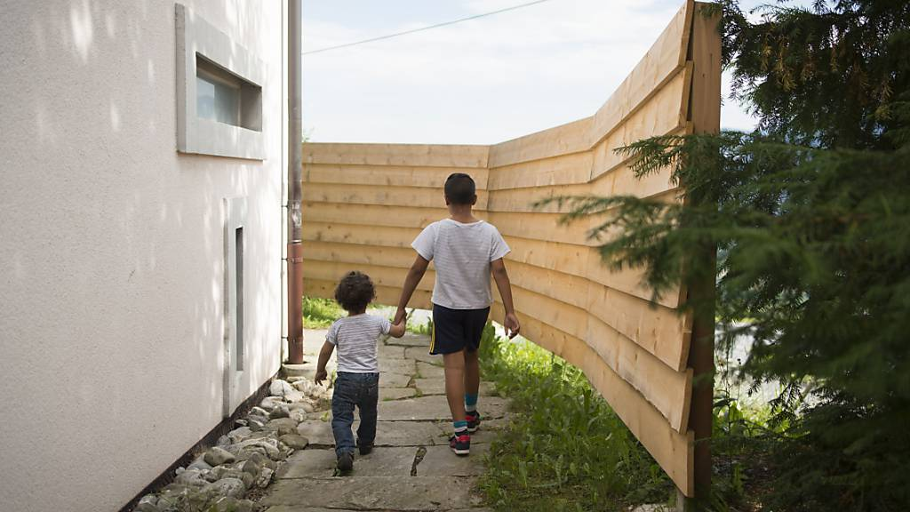 Seit über zwei Jahren ist eine sechsköpfige Familie im Ausreise- und Nothilfezentrum Sonnenberg in Vilters SG in einem Raum untergebracht. Dies löste Kritik aus. (Archivbild)