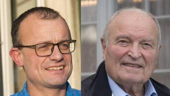 Stefan Schluep, Schnottwil (links) und Bernhard Jöhr, Messen.
