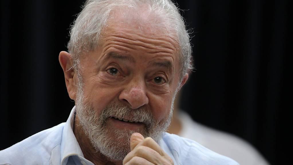 ARCHIV - Luiz Inacio «Lula» da Silva, ehemaliger brasilianischer Präsident. Foto: Paulo Lopes/ZUMA Wire/dpa
