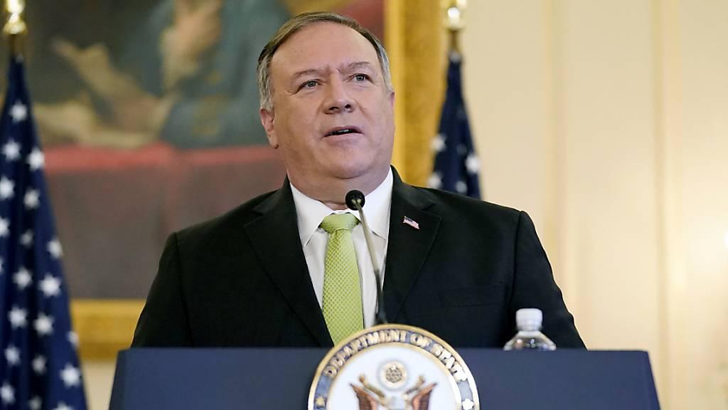 Pompeo: Auch Deutschland muss Iran-Sanktionen umsetzen