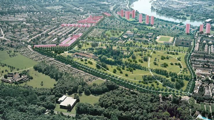 Der östliche Stadtrand dürfte auch in den kommenden Jahren nicht überbaut werden.