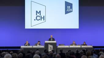 Die Führungsriege der MCH Group bei der ausserordentlichen Generalversammlung am 29. Januar 2020. (Symbolbild)