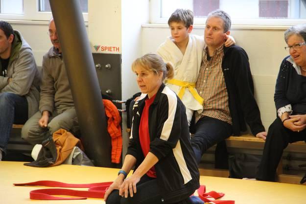Engagierte Betreuerin und Coach Stella Campestrin