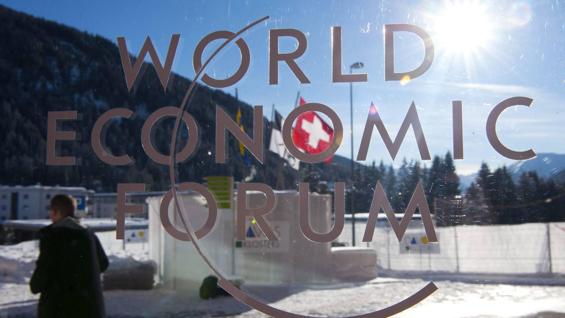 Das Weltwirtschaftsforum (WEF) hält sein 50. Jahrestreffen in Davos ab. Erwartet wird viel Politprominenz - wie etwa US-Präsident Donald Trump.
