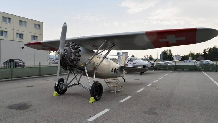 Die Dewoitine D 26ist das älteste noch flugtüchtige Flugzeug der Schweiz