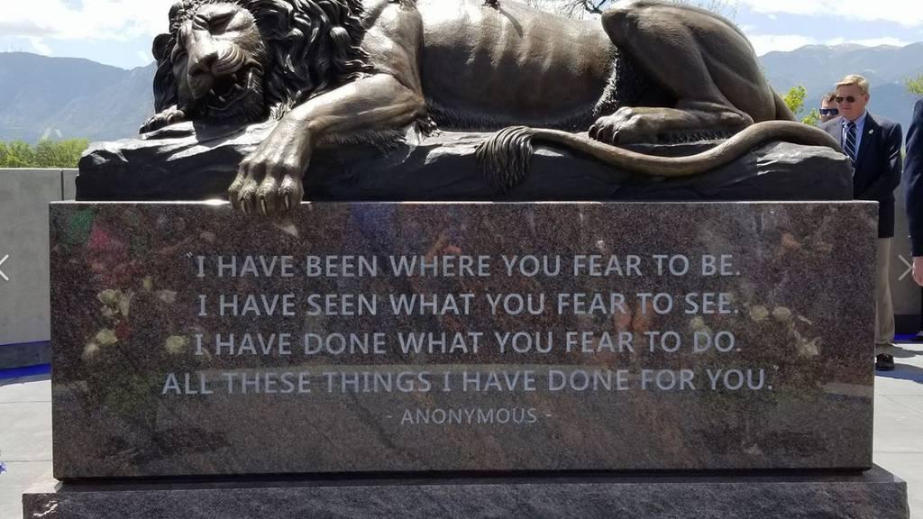 Das Löwendenkmal gibts jetzt auch in Amerika