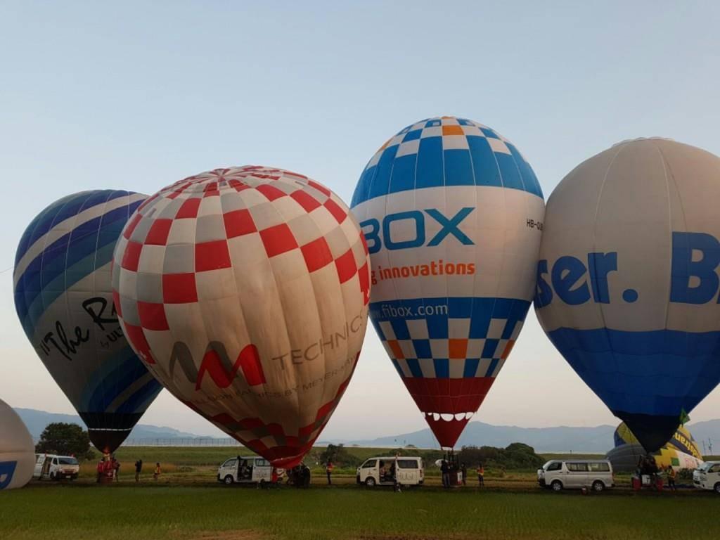 Heissluftballon-WM in Japan (© zVg/Aero-Club Schweiz)