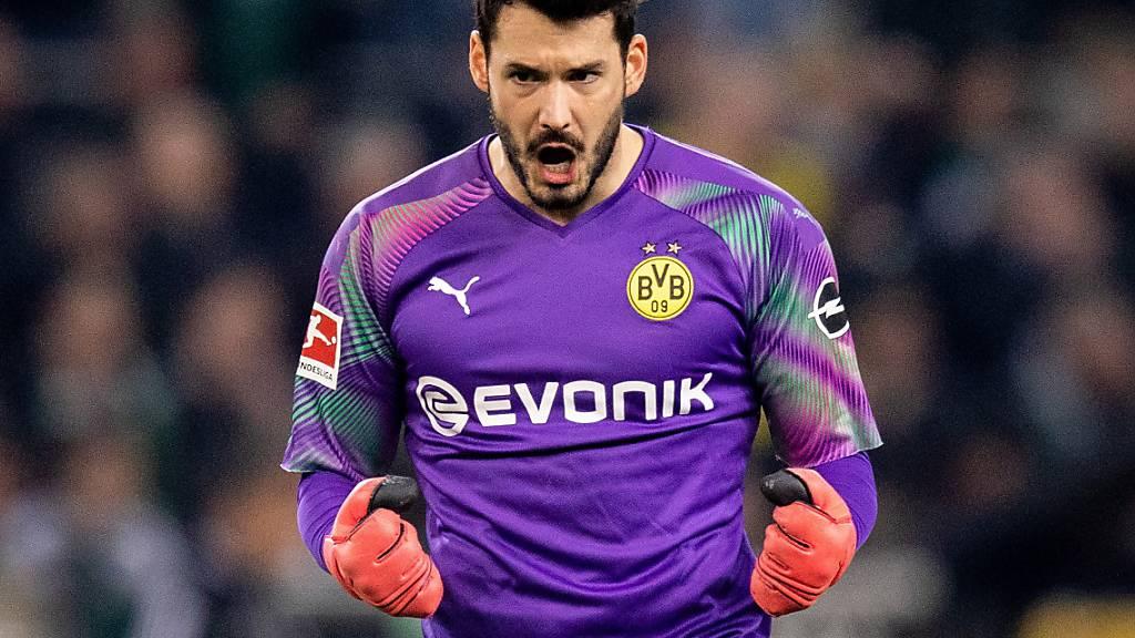 Roman Bürki setzt Karriere in Dortmund fort