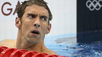 Michael Phelps verpasst über 400 m Lagen einen Podestplatz