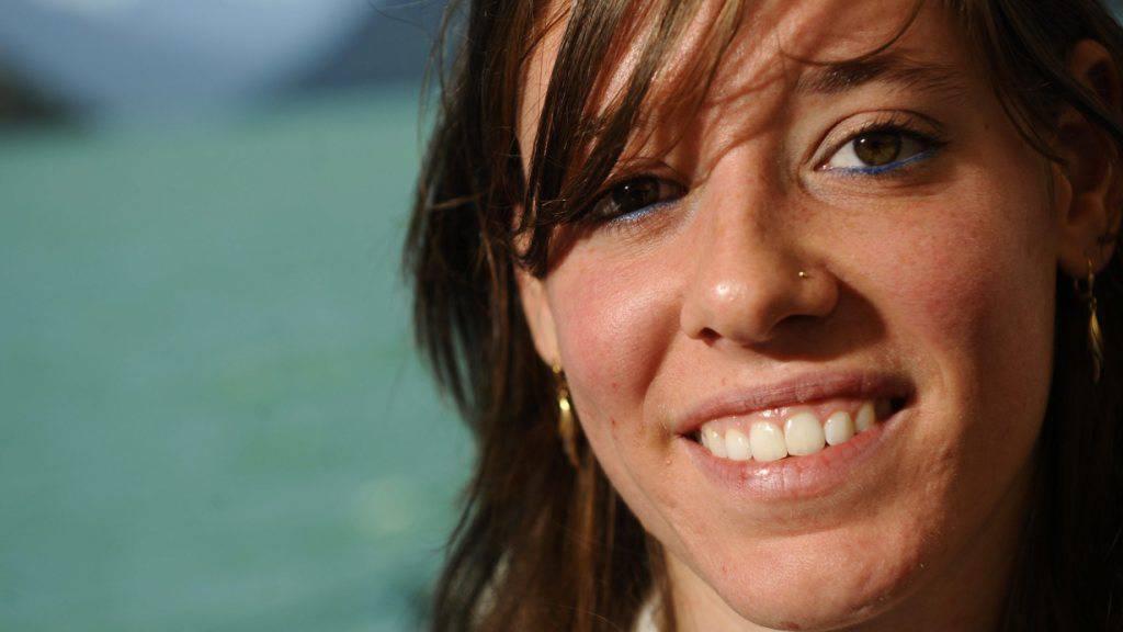Irene Pusterla blickt auf eine erfolgreiche Karriere im Weitsprung zurück.