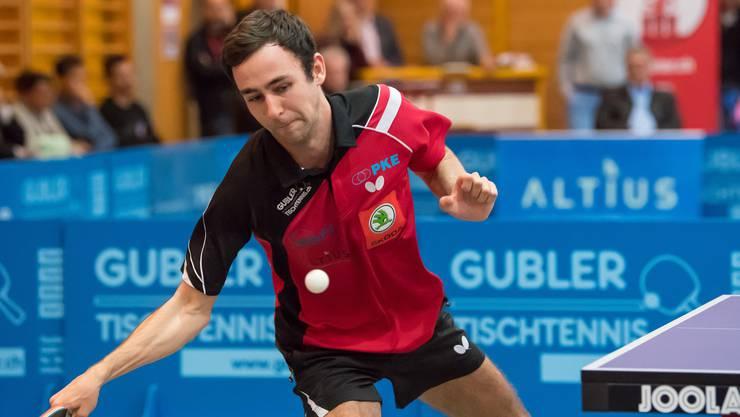 Lionel Weber in Aktion