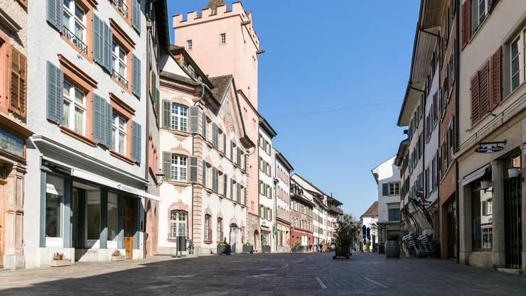 In der Marktgasse in Rheinfelden stehen schon länger etliche Ladenlokale leer.