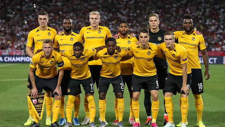 Die Young Boys können sich auf attraktive Gegner in der Europa League freuen