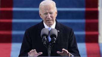 Amerikas 46. Präsident nach der Vereidigung: Für die ersten 100 Tage hat Joe Biden ein ambitioniertes Programm.