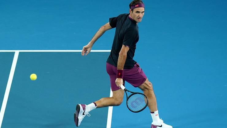 Roger Federer will in die 3. Runde des Australian Open einziehen.