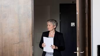 Kostspielige Entscheidung getroffen: Justizdirektorin Jacqueline Fehr (SP), hier zu sehen auf einer Aufnahme vom Juli 2017.