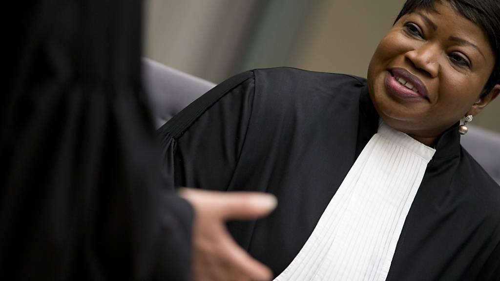 ARCHIV - Fatou Bensouda, Chefanklägerin am Internationalen Strafgerichtshof. Foto: Peter Dejong/AP/dpa