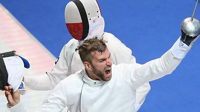 Benjamin Steffen setzte sich im Final gegen Fabian Kauter durch