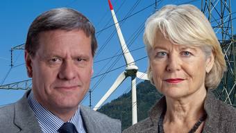 Die Debatte zwischen dem Thurgauer SVP-Ständerat Roland Eberle (PRO) und der Zürcher GLP-Ständerätin Verena Diener (KONTRA).jpg