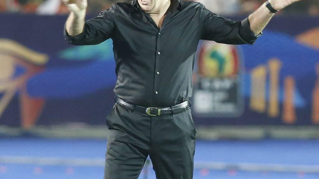 Javier Aguirre wurde nach dem enttäuschenden Afrika-Cup entlassen