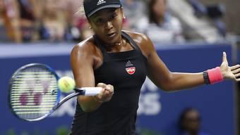 Die 20-jährige Naomi Osaka gewann als erste Japanerin einen Grand-Slam-Titel